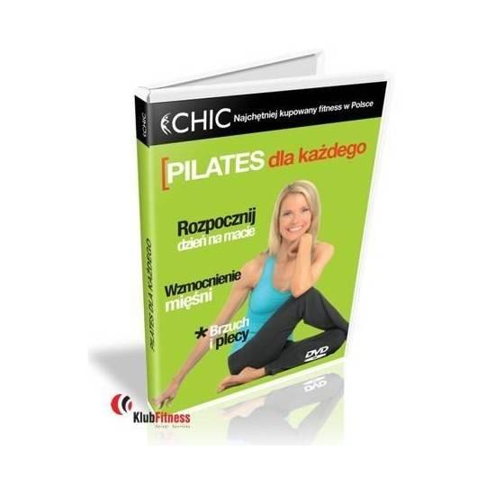 Ćwiczenia instruktażowe DVD Pilates Dla Każdego,producent: MayFly, zdjecie photo: 1   online shop klubfitness.pl   sprzęt sporto
