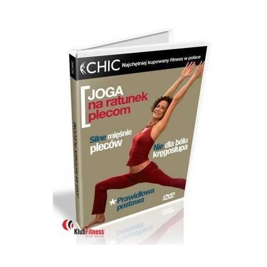 Ćwiczenia instruktażowe DVD Joga Na Ratunek Plecom,producent: MayFly, photo: 1