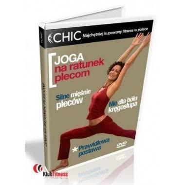 Ćwiczenia instruktażowe DVD Joga Na Ratunek Plecom,producent: MayFly, zdjecie photo: 1 | online shop klubfitness.pl | sprzęt spo