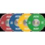 Obciążenie gumowane olimpijskie bumper ATX® 50-HQRB-C | waga: 10kg ÷ 25kg,producent: ATX, zdjecie photo: 4 | online shop klubfit
