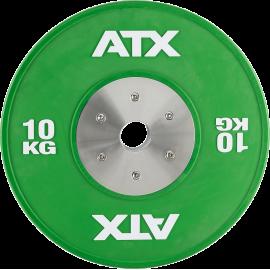 Obciążenie gumowane olimpijskie bumper ATX® 50-HQRB-C | waga: 10kg ÷ 25kg ATX - 33 | klubfitness.pl | sprzęt sportowy sport equi