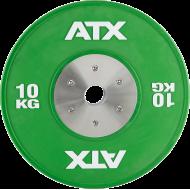 Obciążenie gumowane olimpijskie bumper ATX® 50-HQRB-C | waga: 10kg ÷ 25kg,producent: ATX, zdjecie photo: 33 | online shop klubfi