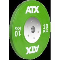 Obciążenie gumowane olimpijskie bumper ATX® 50-HQRB-C | waga: 10kg ÷ 25kg,producent: ATX, zdjecie photo: 35 | online shop klubfi