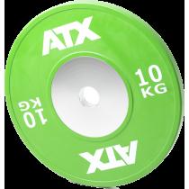 Obciążenie gumowane olimpijskie bumper ATX® 50-HQRB-C | waga: 10kg ÷ 25kg,producent: ATX, zdjecie photo: 36 | online shop klubfi