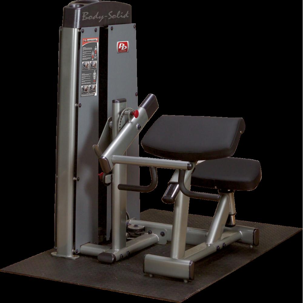 Maszyna ze stosem Body-Solid PRO DUAL DBTC-SF modlitewnik bicepsy tricepsy,producent: Body-Solid, zdjecie photo: 1