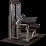 Maszyna ze stosem Body-Solid PRO DUAL DBTC-SF modlitewnik bicepsy tricepsy Body-Solid - 3 | klubfitness.pl | sprzęt sportowy spo