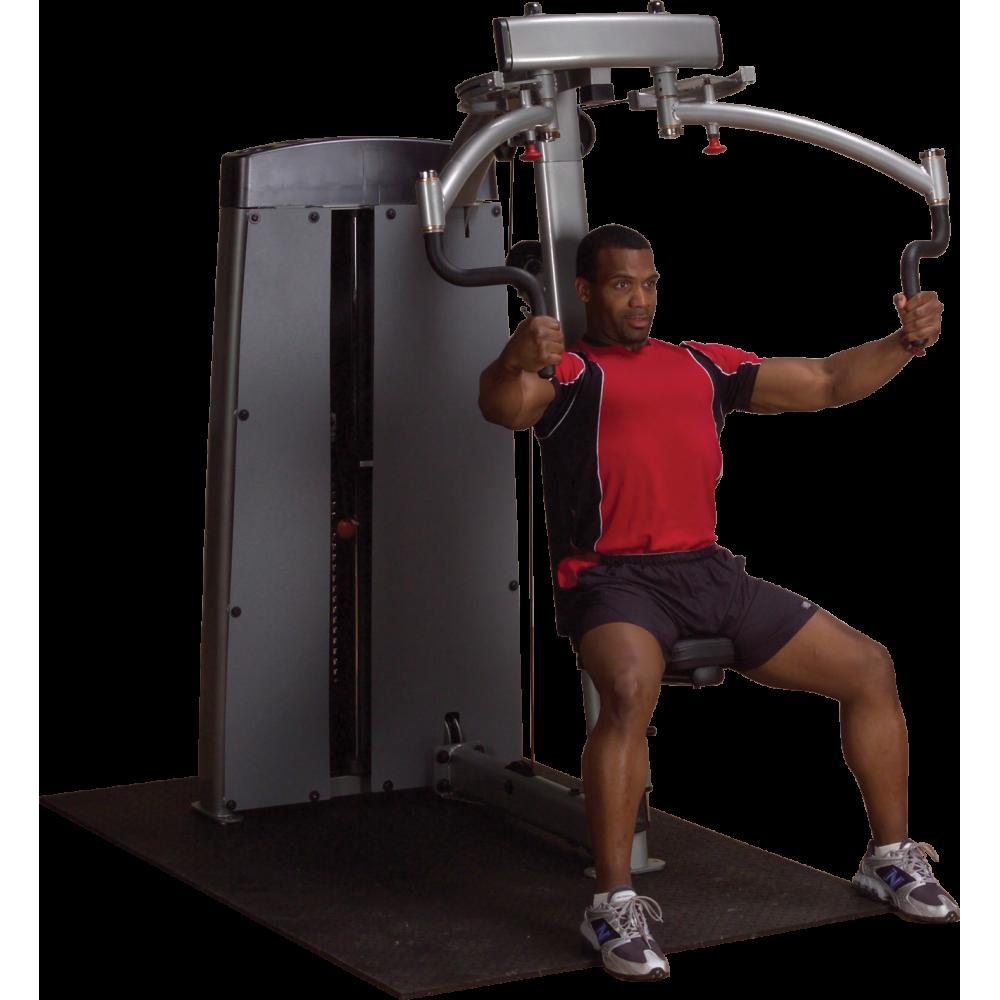 Maszyna ze stosem Body-Solid Pro-Dual DPEC-SF klatka piersiowa & plecy,producent: Body-Solid, zdjecie photo: 1