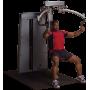 Maszyna ze stosem Body-Solid Pro-Dual DPEC-SF klatka piersiowa & plecy Body-Solid - 2 | klubfitness.pl | sprzęt sportowy sport e