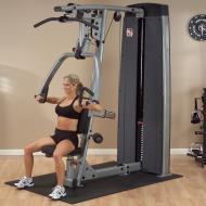 Maszyna ze stosem Body-Solid Pro-Dual DPLS-SF klatka piersiowa wypychanie siedząc,producent: Body-Solid, zdjecie photo: 2