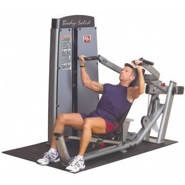 Maszyna ze stosem Body-Solid Pro-Dual DPRS-SF klatka piersiowa wypychanie leżąc,producent: Body-Solid, zdjecie photo: 2