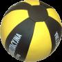 Piłka lekarska ASK-3 | waga 3kg | skóra syntetyczna Stayer Sport - 1 | klubfitness.pl