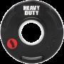 Obciążenie olimpijskie gumowane 50-HDR Heavy Duty   waga 0.5kg ÷ 25kg Heavy Duty - 2   klubfitness.pl