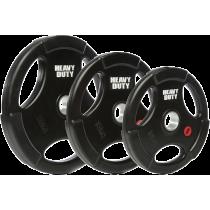 Obciążenie olimpijskie gumowane 50-HDR Heavy Duty   waga 0.5kg ÷ 25kg Heavy Duty - 10   klubfitness.pl