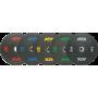 Obciążenia gumowane olimpijskie bumper ATX® 50-HIT-BP | waga: 5kg ÷ 25kg,producent: ATX, zdjecie photo: 1 | online shop klubfitn