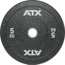 Obciążenia gumowane olimpijskie bumper ATX® 50-HIT-BP | waga: 5kg ÷ 25kg ATX - 4 | klubfitness.pl | sprzęt sportowy sport equipm