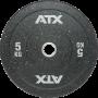 Obciążenia gumowane olimpijskie bumper ATX® 50-HIT-BP | waga: 5kg ÷ 25kg ATX® - 1 | klubfitness.pl