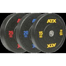 Obciążenie ATX® 50-HIT-BP bumper gumowane   waga 5kg ÷ 25kg ATX® - 16   klubfitness.pl
