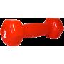Hantla fitness winylowa Stayer Sport Hex 2lb (0.9kg) | czerwona Stayer Sport - 2 | klubfitness.pl | sprzęt sportowy sport equipm