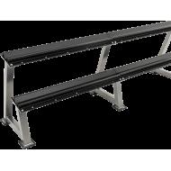 Stojak na hantle IFS R-3006-S srebrny   2 poziomy,producent: IFS, zdjecie photo: 1