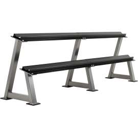 Stojak na hantle IFS R-3006-S srebrny | 2 poziomy | 125cm ÷ 500cm,producent: IRONSPORTS, zdjecie photo: 1 | online shop klubfitn