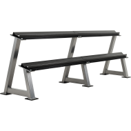 Stojak na hantle IFS R-3006-S srebrny | 2 poziomy | 125cm ÷ 500cm,producent: IRONSPORTS, zdjecie photo: 2 | online shop klubfitn