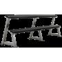 Stojak na hantle IFS R-3006-S srebrny | 2 poziomy | 125cm ÷ 500cm IRONSPORTS - 2 | klubfitness.pl
