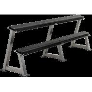 Stojak na hantle IFS R-3006-S srebrny   2 poziomy,producent: IFS, zdjecie photo: 3