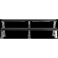 Stojak na hantle IFS R-3006-S srebrny   2 poziomy,producent: IFS, zdjecie photo: 4
