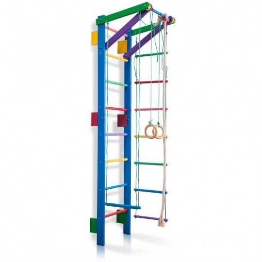 Drabinka gimnastyczna dla dzieci TEENAGER 2 inSPORTline z akcesoriami,producent: Insportline, zdjecie photo: 1