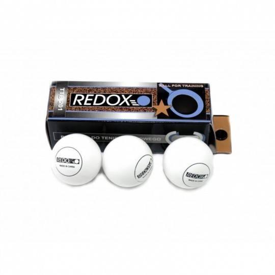 Piłeczki do tenisa stołowego Redox TTB201 białe | 3szt,producent: Redox, zdjecie photo: 1