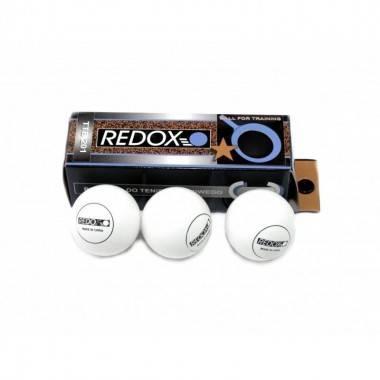 Piłeczki do tenisa stołowego Redox TTB201 białe | 3szt Redox - 1