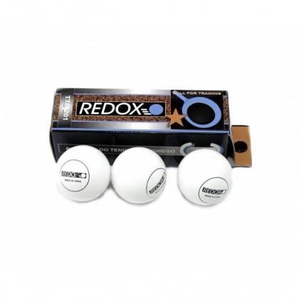 Piłeczki do tenisa stołowego Redox TTB201 białe | 3szt,producent: Redox, zdjecie photo: 1 | online shop klubfitness.pl | sprzęt
