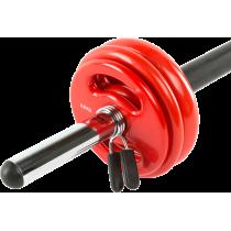 Zestaw do aerobiku fitness IFS BodyPump 18,5kg,producent: IRONSPORTS, zdjecie photo: 6   online shop klubfitness.pl   sprzęt spo