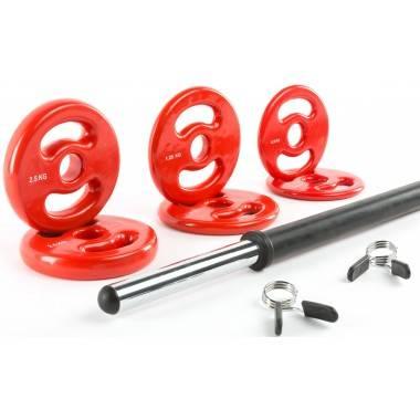 Zestaw do aerobiku fitness IFS BodyPump 18,5kg,producent: IFS, zdjecie photo: 2
