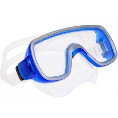 Maska do nurkowania pływania Salvas Geo Silicone Senior | niebieska Salvas - 1 | klubfitness.pl | sprzęt sportowy sport equipmen