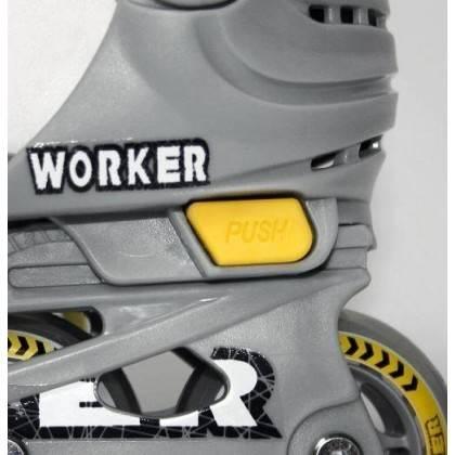 Rolki rekreacyjne Worker Condor | regulowane | rozmiar S (30-33),producent: WORKER, zdjecie photo: 3 | online shop klubfitness.p