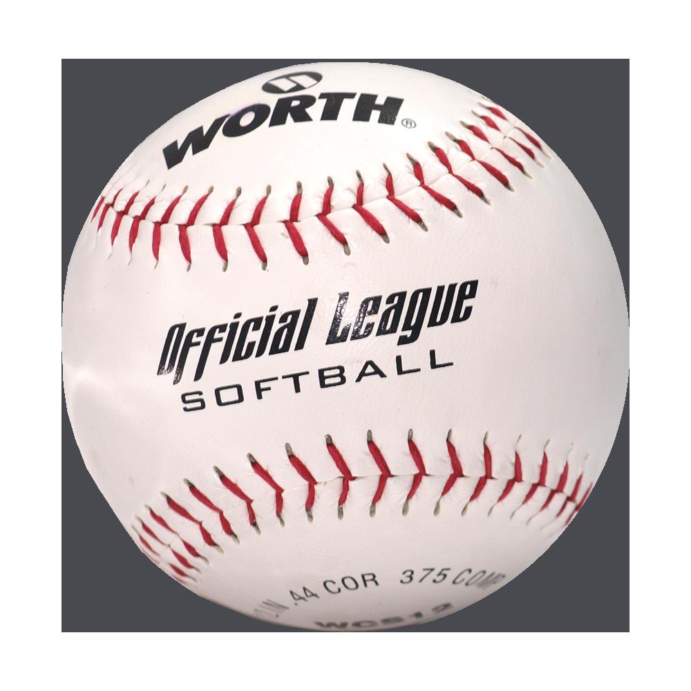 "Piłka do gry w baseball Worth WCS12 Softball | 12"" Worth - 1 | klubfitness.pl"