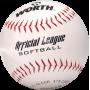 "Piłka do gry w baseball Worth WCS12 Softball | 12"" Worth - 2 | klubfitness.pl"