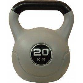 Hantla winylowa kettlebell STAYER SPORT VIN-KET 20kg czarna,producent: STAYER SPORT, photo: 1