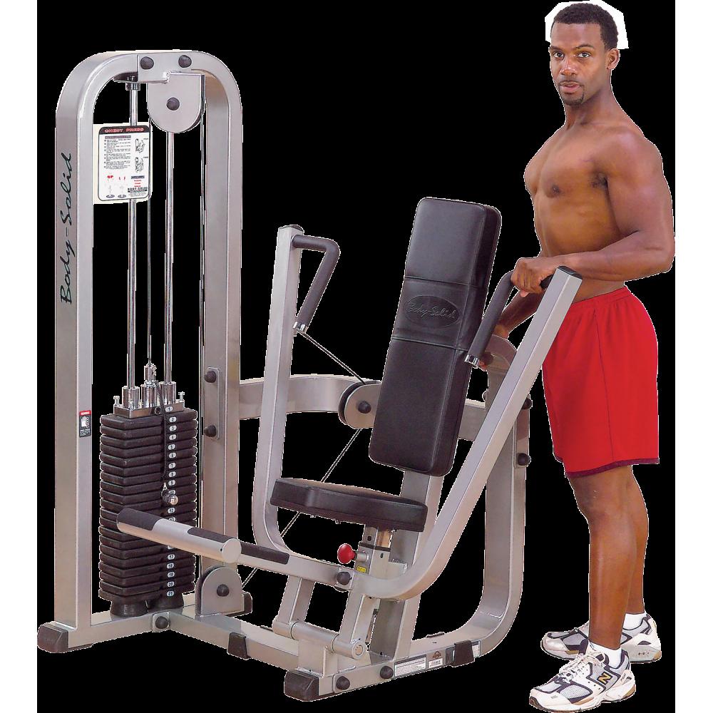 Maszyna na mięśnie klatki piersiowej Body-Solid SBP100G/2,producent: Body-Solid, zdjecie photo: 1