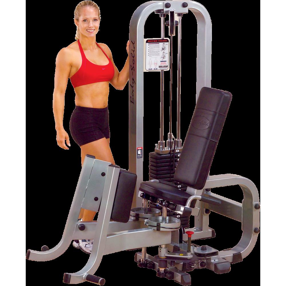 Maszyna na mięśnie przywodziciele odwodziciele Body-Solid STH1100G/2,producent: Body-Solid, zdjecie photo: 1