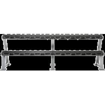 Stojak na hantle IFS R-3008-S-HS srebrny | 2 poziomy | 125cm ÷ 500cm,producent: IRONSPORTS, zdjecie photo: 6 | online shop klubf