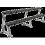 Stojak na hantle IFS R-3008-S-HS srebrny | 2 poziomy | 125cm ÷ 500cm,producent: IRONSPORTS, zdjecie photo: 6 | klubfitness.pl |