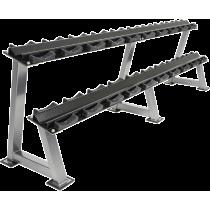Stojak na hantle IFS R-3008-S-HS srebrny | 2 poziomy | 125cm ÷ 500cm,producent: IRONSPORTS, zdjecie photo: 3 | online shop klubf