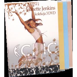 Ćwiczenia instruktażowe DVD Jeanette Jenkins kolekcja 3xDVD,producent: MayFly, zdjecie photo: 2