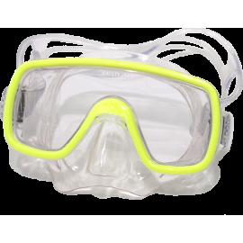 Maska do nurkowania SALVAS DOMINO SILFLEX JUNIOR żółta,producent: Salvas, zdjecie photo: 2