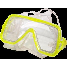 Maska do nurkowania pływania Salvas Abyss Silflex Senior żółta Salvas - 1 | klubfitness.pl