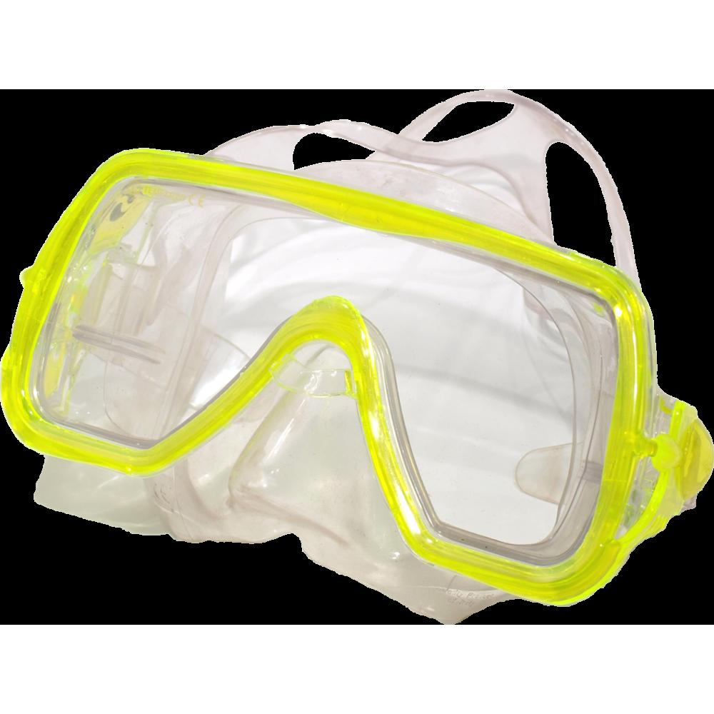 Maska do nurkowania pływania Salvas Abyss Silflex Senior żółta Salvas - 1 | klubfitness.pl | sprzęt sportowy sport equipment