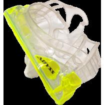 Maska do nurkowania pływania Salvas Abyss Silflex Senior żółta Salvas - 3 | klubfitness.pl | sprzęt sportowy sport equipment