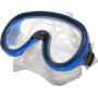 Maska do nurkowania pływania Salvas Splendido Silflex Medium niebieska,producent: Salvas, zdjecie photo: 1   online shop klubfit